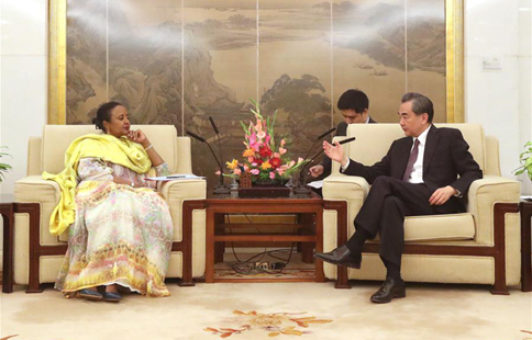 Chinese FM meets Kenyan counterpart in Beijing