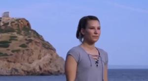 Greek girl dancing Belt and Road