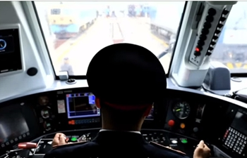 Proud to connect China and Europe: Chinese train driver