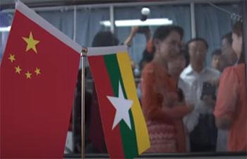 Aung San Suu Kyi visits Myanmar children at Beijing hospital