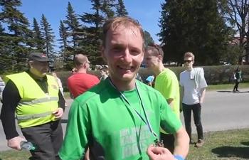 Take a break and drink a beer! Estonia hosts Beer Mile Run