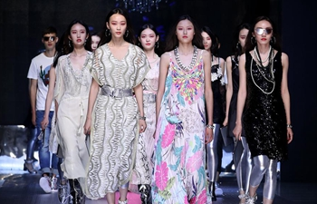 Creations presented during fashion show in China's Shandong