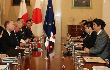 EU-Japan trade agreement top priority for EU: Maltese PM