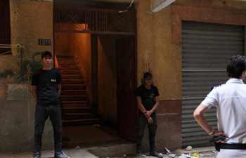 Egypt police kill 10 terrorists during raid in Giza