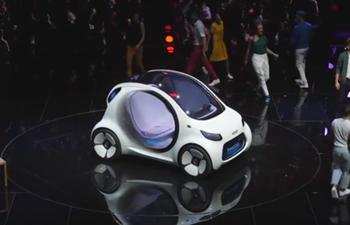 Mercedes-Benz introduced its Smart Vision EQ