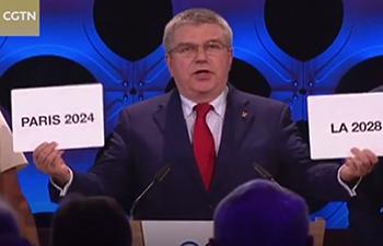 Paris wins bid for 2024 Olympics, LA to host in 2028