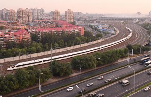 China Focus: Beijing-Shanghai railway speed rises to 350 kph