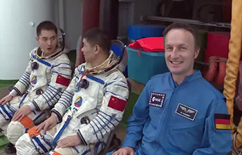 European astronauts train in China for first time