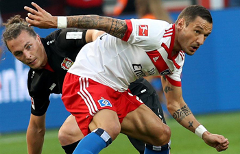 Bayer 04 Leverkusen beats Hamburger SV 3-0 in Bundesliga match