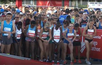 45,000 runners participate in Chicago Marathon