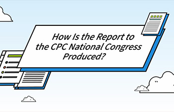 How does the Report to CPC National Congress come into being