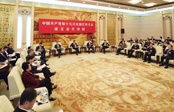 Delegations to 19th National Congress hold discussions in Beijing