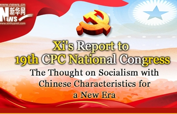 Infographic: The Thought on Socialism with Chinese Characteristics for a New Era