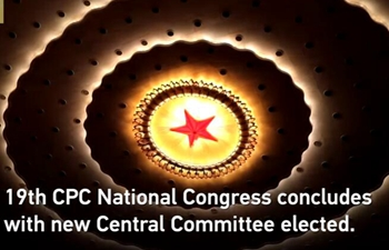 CPC National Congress concludes with new Central Committee elected