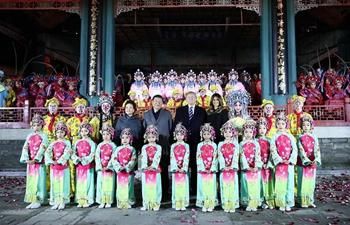 Xi, Trump watch Peking Opera at Forbidden City