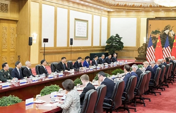 """Xi says: cooperation the """"only correct choice"""" for China-U.S. ties"""