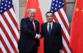 China, U.S. should further open up to each other: premier