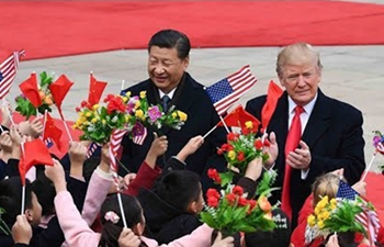 Xi and Trump hold talks on second day of US president's visit