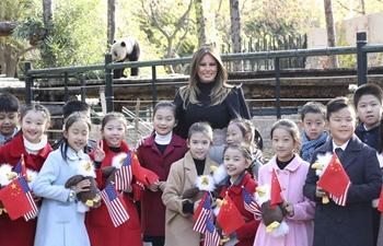 U.S. First Lady Melania Trump visits Beijing Zoo