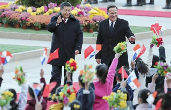 """Chinese president: Bilateral relations """"turned over a new leaf"""""""