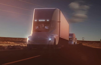 Tesla's first truck can reach 60 MPH in five seconds