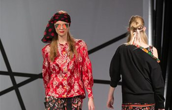 Creations presented at Marie Claire Fashion Days in Budapest