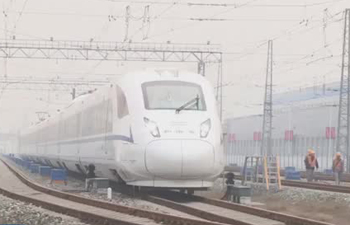 New high-speed train CRH3A to be put into operation in western China