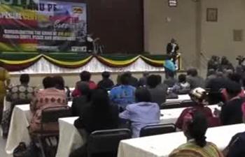 Mugabe dismissed as ruling party leader