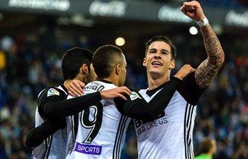 Spanish Primera Division: Valencia CF beats RCD Espanyol 2-0