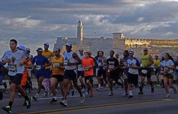Int'l Marathon of Havana attracts over 5,000 participants