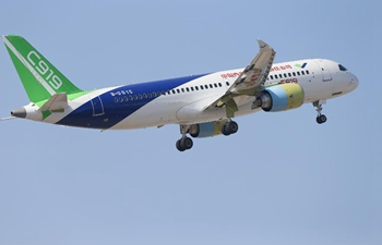 Second plane of C919 makes first test flight in Shanghai