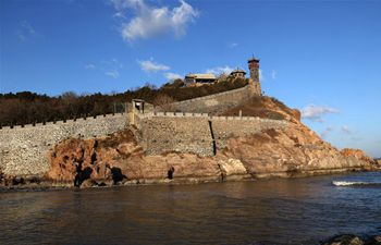 Scenery of Penglai City in east China's Shandong
