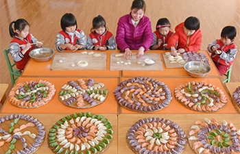 People make dumplings to celebrate upcoming Winter Solstice festival