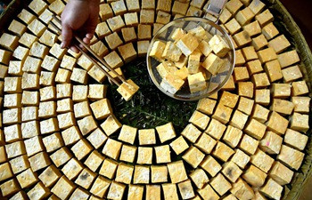 Fermented bean curd: traditional snack in central China