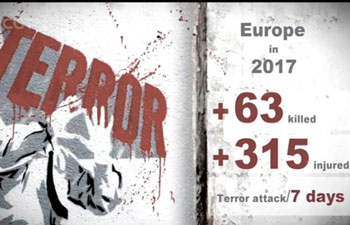 News Map: 2017 The year sees multiple terror attacks hit European cities