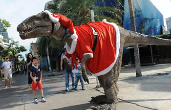 Christmas marked in Thailand