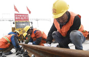 Qingdao-Jinan highspeed railway under construction