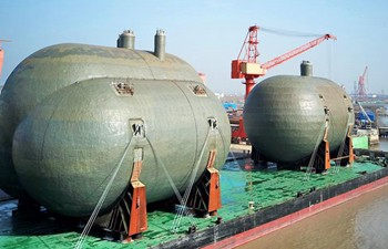 In pics: Delivery of type C tanks in east China's Jiangsu