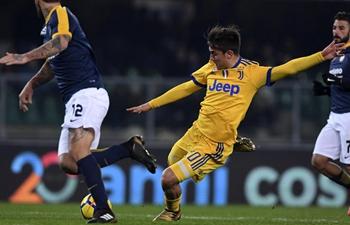 Italian Serie A: Juventus beat Verona 3-1