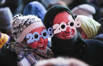 In pics: New Year celebration at Times Square in New York