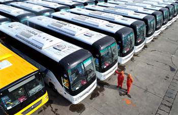 More than 500 buses in E China ready to be exported to Africa