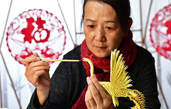 In pics: hearing impaired woman and her paper sculpture workshop