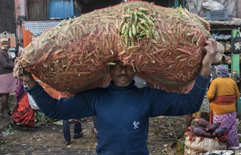 A look at wholesale vegetable market in India