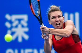 Simona Halep advances to Shenzhen Open final