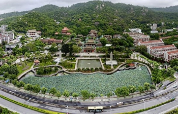 Aerial view of historical sites across China