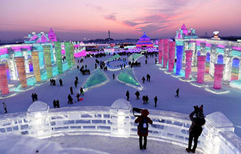 In pics: 34th Harbin International Ice and Snow Festival