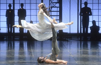 "Russian dancers bring ballet ""The Brother Karamazov"" to Beijing"