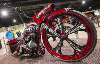 2018 North American Int'l Motorcycle Supershow held in Toronto