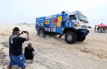 In pics: 2018 Dakar Rally Race Stage 2