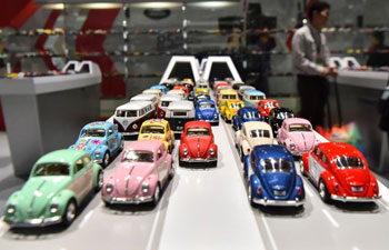 Asia's largest toys fair opens in Hong Kong with latest innovative products